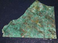 "Dragon Stone Jasper slab-- 5 1/2""   x 4  5/16""--rough- cabbing - display"