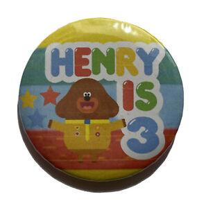 Hey Duggee Personalised Birthday Badge