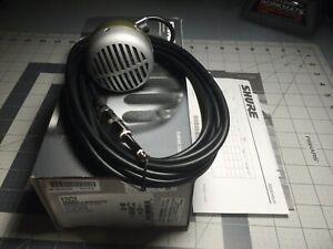 Shure 520DX Green Bullet Harmonica Mic Microphone