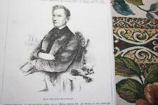 1858 Stich 112 / Carl Hermann Conrad Burmeister Geograph Stralsund Buenos Aires