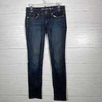American Eagle Stretch Skinny Jeans Size 2 Dark Wash