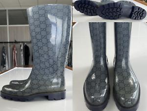 Gucci Guccissima Edimburg Gg Boots Rainboots Rubber Boots Rain-Boots New