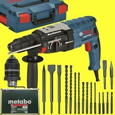 BOSCH Bohrhammer GBH 2-28 F + L-BOXX + 17 tlg Bohrer+Meißel-Set im Alu-Koffer