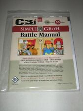 C3i: Simple GBoH Battle Manual (New)