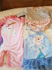 Girls Swimming Costumes Bundle 12-18 Months sun safe suit 💕