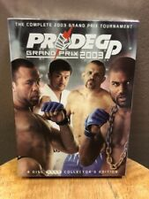 PRIDE GP Grand Prix 2003 (DVD, 2007, 4-Discs) Tournament