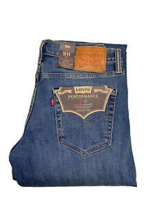 Levi's 511 SLIM FIT Jeans Thermadapt Straight Leg Alligator Adapt 04511-2846 L01