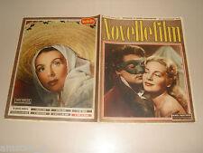JEAN MARAIS=FRANCOISE CHRISTOPHE=RENEE SAINT CYR=COVER MAGAZINE 1952/218