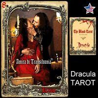 dracula tarot card deck guide book vintage oracle vampire vampires transylvania