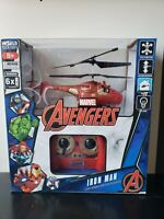 WORLD TECH TOYS 3.5CH IRON MAN w/ FIGURE MARVEL IR HELICOPTER