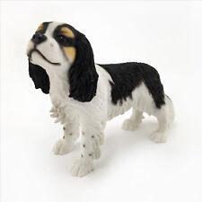 Leonardo dog Collection -Cavalier KCS -  Tri Colour Figurine