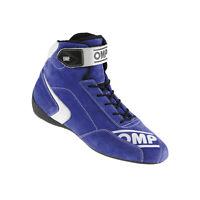Neu OMP Fahrerschuh FIRST-S blau (Homologation FIA) (43)