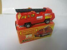 Matchbox Lesney Superfast SF22 Blaze Buster- BLACK LADDER, boxed