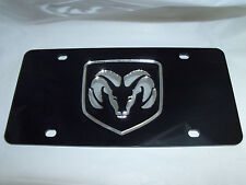 Dodge  License Plate Black/Silver NEW!!