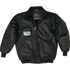 Delta Plus RENO Mens Work Bomber Flight Jacket Security Coat Fleece Lined Warm