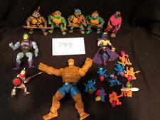 Vintage 1980s/1990s Teenage Mutant Ninja Turtles, He Man And Other Assorted Fig