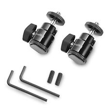 """SmallRig 1/4"""" Camera Hot shoe Mount with Additional 1/4"""" Screw 2pcs Pack New"""