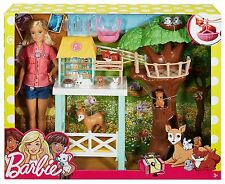Barbie Doll Animal Doctor Playset - FCP78 - NEW
