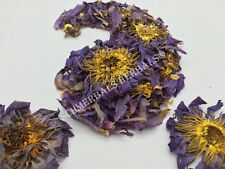 "Blue Lotus, N. caerulea, 1oz Organic Flower ""Siamese Dream™"" ~Schmerbals Herbals"