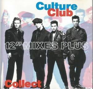 """Culture Club - 12"""" Mixes Plus 1991 CD album"""