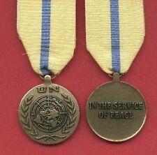 UN United Nations Award medal for Iraq Kuwait UNIKOM Mission