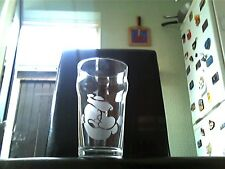 Popeye Etched Engraved Pint Beer Glass