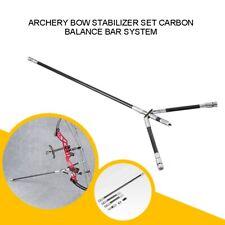 "Archery Bow Stabilizer Carbon Balance Bar Extender Main Long Rod 30"" 10"" 4"" FX2"