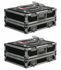 (2) Odyssey FR1200E ATA Universal Pro DJ Turntable Flight/Road Cases