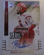 2015 Panini Contenders Draft Picks - Dres Anderson - Auto - Colts/Utes