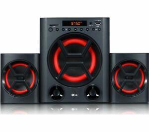 LG XBOOM LK72B Bluetooth Traditional Hi-Fi System - Black - Currys