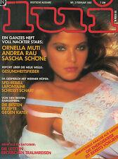 Lui 2,02/1982 Febuar,Ornella Muti,Andrea Rau,Sascha Schöne,... SEHR GUT!