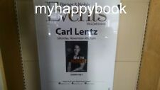 SIGNED Own the Moment by Carl Lentz, Hardcover, autographed, new