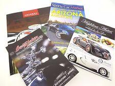 Scottsdale 2017 Auction Program Barrett Jackson Highline Autos Arizona Concours