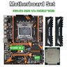 Kllisre X99 D4 motherboard set with Xeon E5 2620 V3 LGA2011-3 CPU 2pcs X 8GB =16