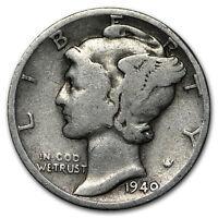 1940-D Mercury Dime Good/VF - SKU#170129