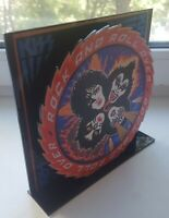 """Kiss Rock and Roll Over 3D display 8"""" standee vinyl holder (figure, statue)"""