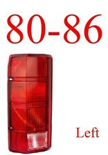 80 86 Ford Left Tail Light Assembly, Truck & Bronco, New In Box FO2800103