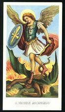 santino-holy card EGIM n.30 S.MICHELE ARCANGELO
