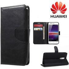 Cover Flip Custodia Libro Portafoglio Chiusura Magnetic per Huawei Y6 II Compact Fucsia