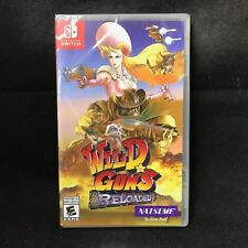 Wild Guns Reloaded (Nintendo Switch) BRAND NEW / Region Free