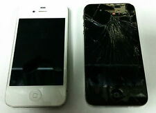 LOT OF TWO APPLE I PHONES 4S A1387 & 4 A1332 FOR PARTS OR REPAIR #60460-1 DBW