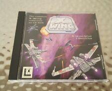 PC Star Wars X-Wing (1993) w/ Jewel Case & Inserts