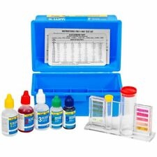 5 Way Swimming Pool Spa Water Chemical Test Kit Chlorine Bromine pH Alkalinity