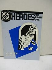 1985 DC Heroes Role Playing Game Player's Manual