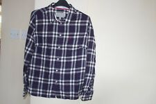 Womens Jack Wills Blue & Pink Check Shirt- Size UK 10