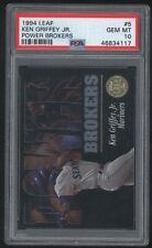 1994 Leaf KEN GRIFFEY JR Power Brookers Card #5 Mariners Psa 10