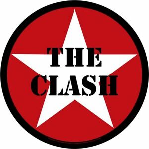 CLASH star logo 2020 GIANT CIRCULAR BACK PATCH 28.5 cms OFFICIAL MERCHANDISE