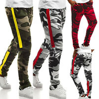 Men's Camouflage Military Army Casual Sports Running Slacks Trousers Long Pants
