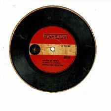 Salade de Fruits Vinyl 45 RPM 5 7/8in Cardboard Pub Advert Monsavon - Europunion