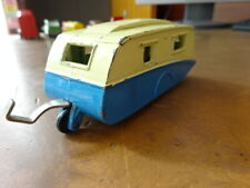 DINKY 190 CARAVAN BLUE AND CREAM  - SEE PICS FOR CONDITION